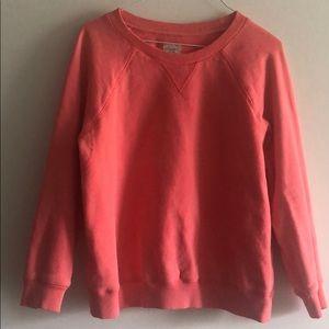 Wilfred Free Bright Pink Crew Neck Sweatshirt